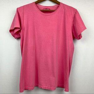 Comfort Colors Gildan Pink Cotton Tee